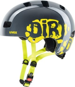 UVEX Kid 3 kids helmet dirtbike grey/lime