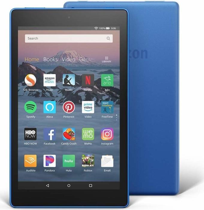 Amazon Fire HD 8 KFKAWI 2018, with Advertising, 16GB, blue (53-007606/53-014988)