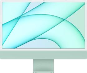 """Apple iMac 24"""" green, Apple M1, 7 Core GPU, 8GB RAM, 256GB SSD [2021 / Z14L] (MJV83D/A)"""