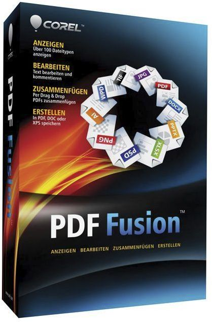 Corel: PDF fusion (English) (PC) (CPDFF1IEMBEU)