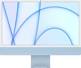 """Apple iMac 24"""" blau, Apple M1, 7 Core GPU, 8GB RAM, 256GB SSD [2021 / Z14M] (MJV93D/A)"""