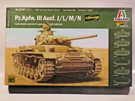 Italeri Pz.Kpfw. III Ausf.J/K/L/M/N (28mm) (510015757)