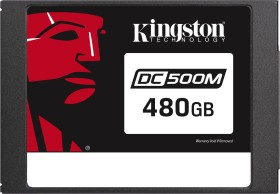 Kingston DC500M Data Center Series Mixed-Use SSD - 1.3DWPD 480GB, SED, SATA (SEDC500M/480G)