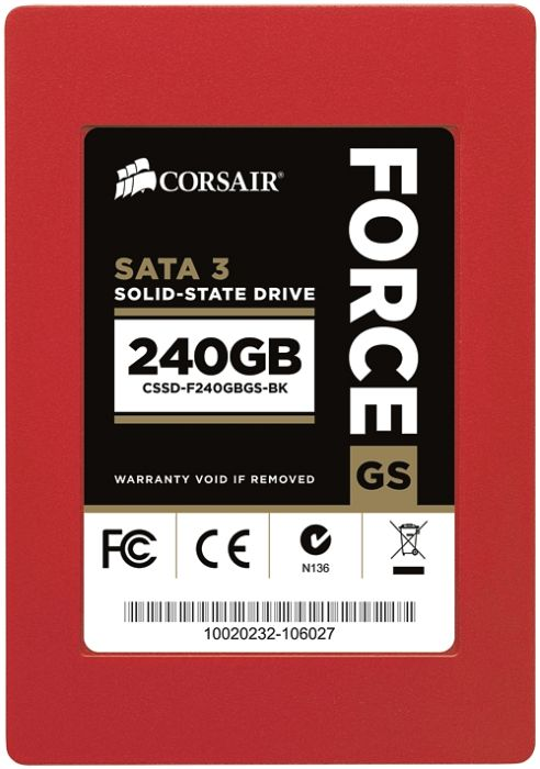 "Corsair Force Series GS 240GB, 2.5"", SATA 6Gb/s (CSSD-F240GBGS-BK)"