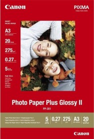 Canon PP-201 photo paper Plus A3, 270g/m², 20 sheets (2311B020)