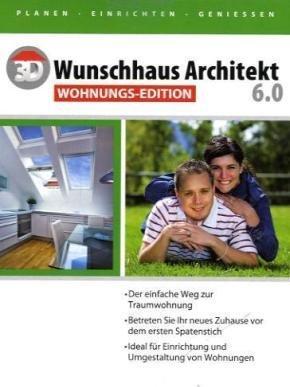 3D Wunschhaus Architekt 6.0 Wohnungs-Edition (deutsch) (PC) -- via Amazon Partnerprogramm
