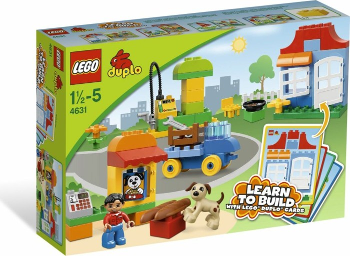 LEGO - DUPLO Learning With Bricks - My First Build (4631) -- via Amazon Partnerprogramm