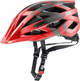 UVEX I-VO CC Helmet red/darksilver mat