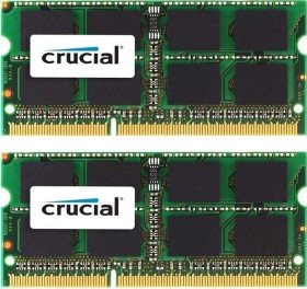 Crucial SO-DIMM Kit 8GB, DDR3L-1600, CL11 (CT2KIT51264BF160BJ)