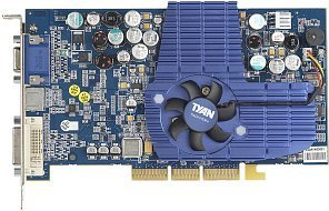 Tyan Tachyon G9800 Pro-M, Radeon 9800 Pro, 128MB DDR, DVI, TV-out,  Hardware-Monitoring, AGP