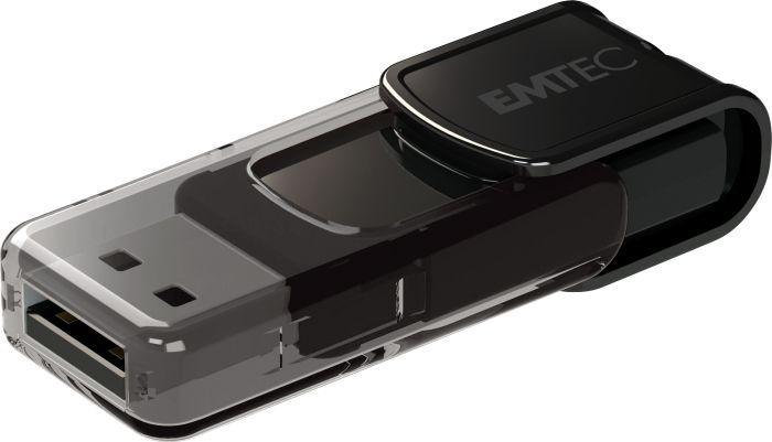 EMTEC C800 USB FlashDrive 8GB (Black) USB 2.0
