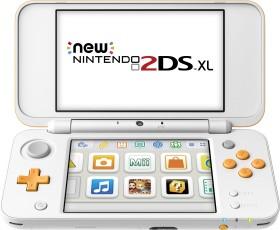 Nintendo New 2DS XL weiß/orange (verschiedene Bundles)