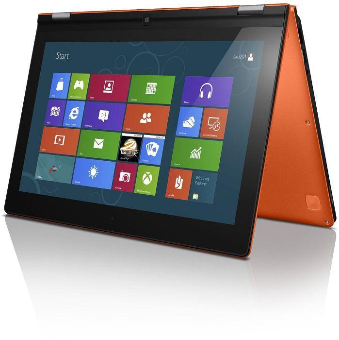lenovo yoga 13 orange core i7 3537u 8gb ram 256gb ssd. Black Bedroom Furniture Sets. Home Design Ideas