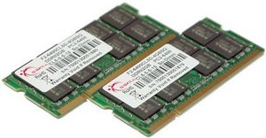 G.Skill SO-DIMM kit 4GB PC2-6400S CL5 (DDR2-800) (F2-6400CL5D-4GBSQ)