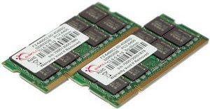 G.Skill SQ Series SO-DIMM Kit 4GB, DDR2-800, CL5 (F2-6400CL5D-4GBSQ)