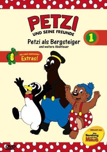 Petzi und seine Freunde Vol. 1: Petzi als Bergsteiger und weitere Abenteuer -- via Amazon Partnerprogramm