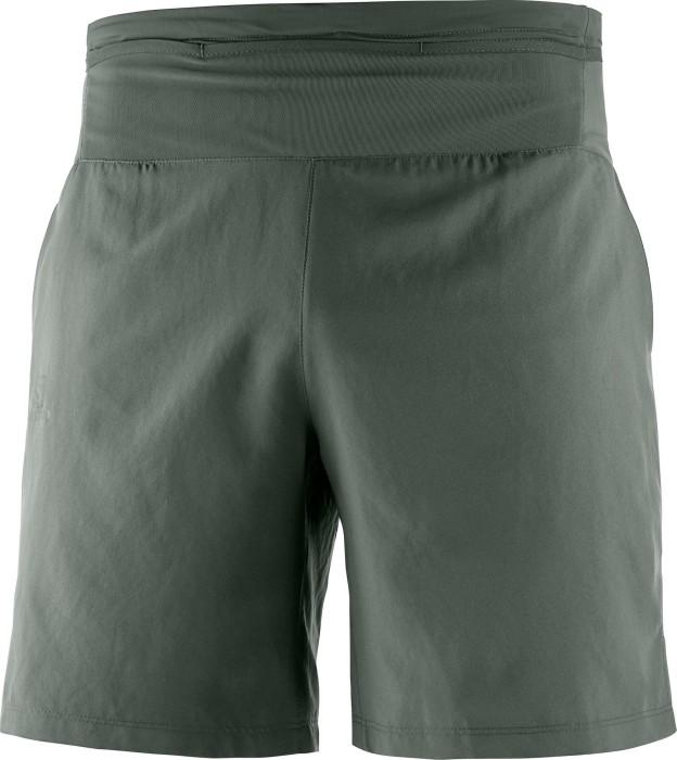 Straßenpreis sehr bekannt Neueste Mode Salomon XA Training Short Laufhose kurz grün (Herren) (C10357) ab € 50,42