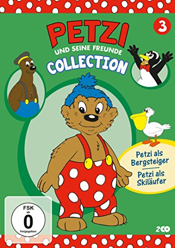 Petzi und seine Freunde Vol. 3: Petzi als Skiläufer und weitere Abenteuer -- via Amazon Partnerprogramm