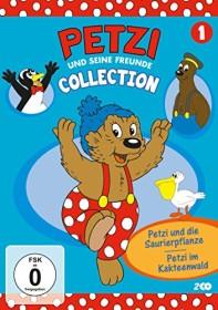 Petzi und seine Freunde Vol. 4: Petzi im Kakteenwald und weitere Abenteuer