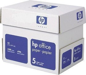 HP office paper A4, 80g/m², 2500 sheets (CHP110)