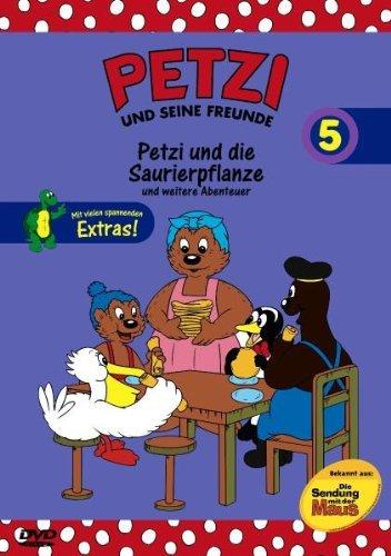 Petzi und seine Freunde Vol. 5: Petzi und die Saurierpflanze und weitere Abenteuer -- via Amazon Partnerprogramm