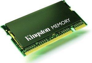 Kingston ValueRAM SO-DIMM 1GB, DDR2-400, CL3 (KVR400D2S3/1G)