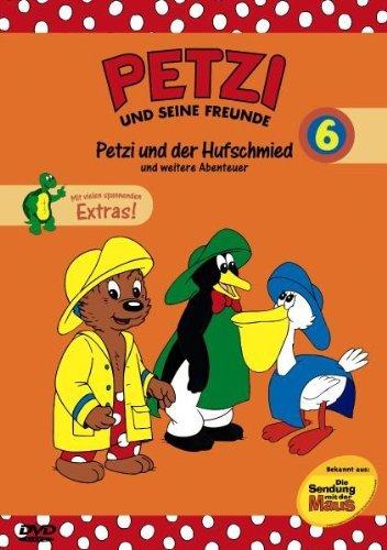 Petzi und seine Freunde Vol. 6: Petzi und der Hufschmied und weitere Abenteuer -- via Amazon Partnerprogramm