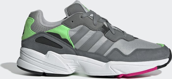e0c4020f3a2a42 adidas Yung-96 grey two grey three shock pink (F35020) starting from ...