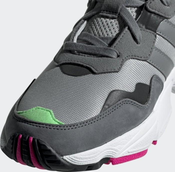 bb5ca14624 adidas Yung-96 grey two grey three shock pink (F35020) starting from £  36.00 (2019)