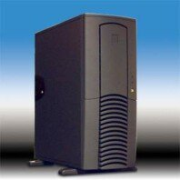Chieftec Dragon DX-01BD (CS-601) Midi-Tower with door, black (various Power Supplies) (Antec SX1030B/SX1040B) -- © CWsoft