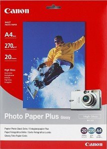 Canon PP-201 Fotopapier Plus A4, 270g, 20 Blatt (2311B019)