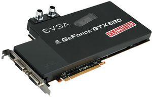 EVGA GeForce GTX 580 Classified hydro Copper, 3GB GDDR5, 2x DVI (03G-P3-1593)