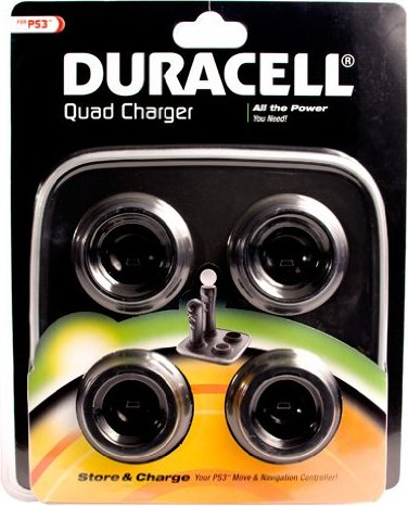 Duracell Playstation Move Dual Charger (PS3) -- via Amazon Partnerprogramm