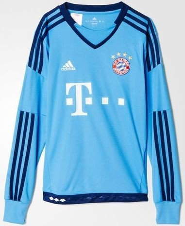 newest bc01a 509ec adidas FC Bavaria Munich goalkeeper jersey Shirt 2015/2016 (Junior) from £  25.35