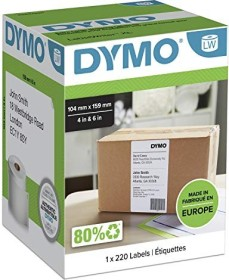 Dymo LabelWriter labels 104x159mm, white, 1 roll (S0904980)