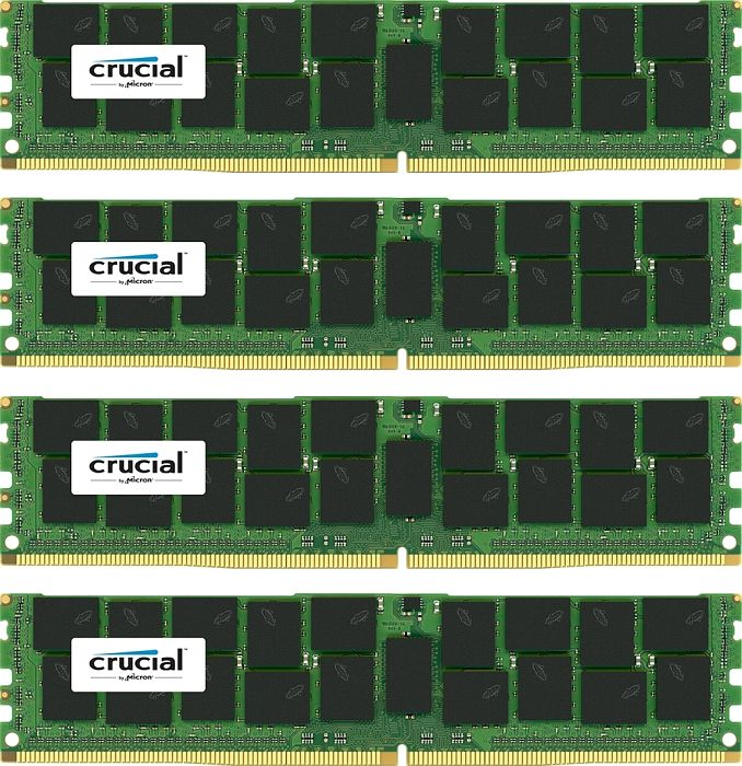 Crucial DIMM Kit 64GB, DDR4-2133, CL15, reg ECC (CT4K16G4RFD4213)