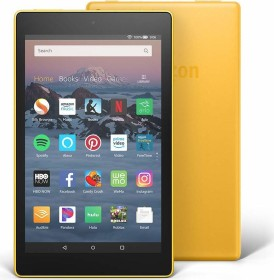 Amazon Fire HD 8 KFKAWI 2018, mit Werbung, 32GB, gelb (53-007614)