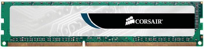 Corsair ValueSelect DIMM 4GB, DDR3-1333, CL9-9-9-24 (CMV4GX3M1A1333C9)