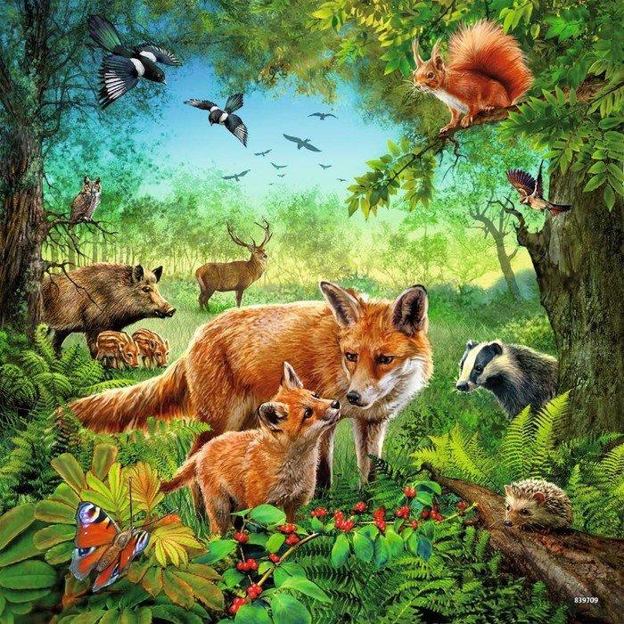 Ravensburger Puzzle Tiere der Erde (09330)