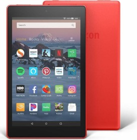 Amazon Fire HD 8 KFKAWI 2018, with Advertising, 32GB, red (53-007610)