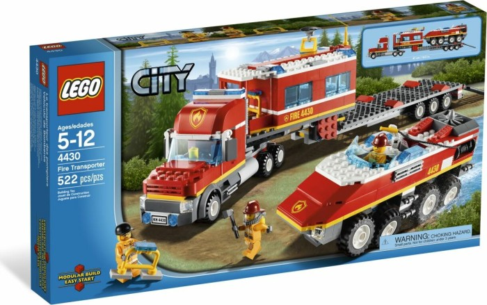 LEGO - City Fire - Fire Transporter (4430) -- via Amazon Partnerprogramm