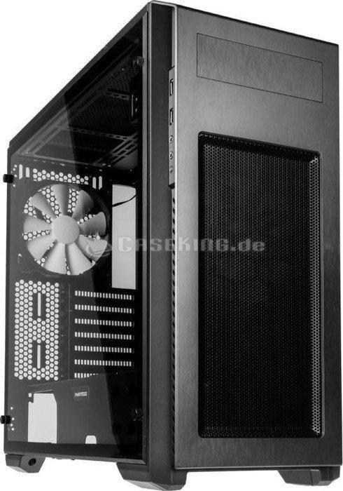 Phanteks Enthoo Pro M anthrazit, Acrylfenster vollflächig (PH-ES515PA_AG) -- © caseking.de
