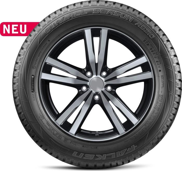 Ganzjahr 2x Falken AS210 185 65 R14 86H Auto Reifen Allwetter