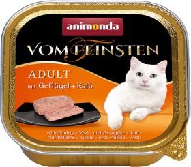 animonda Vom Feinsten Adult poultry + calf 3.20kg (32x 100g) (61050)