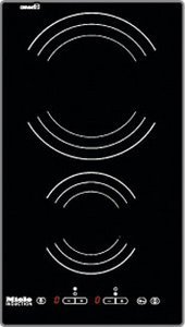 Miele KM 418 induction hob Domino self-sufficient