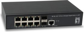 Level One GEL Kilby desktop Gigabit Managed switch, 8x RJ-45, 2x SFP (GEL-1061/55120103)