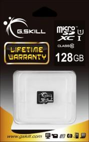 G.Skill microSDXC 128GB, UHS-I, Class 10 (FF-TSDXC128GN-U1)