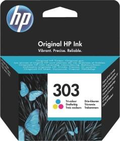HP Druckkopf mit Tinte 303 dreifarbig (T6N01AE)