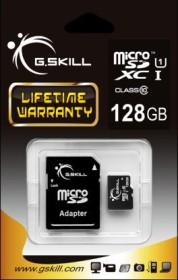 G.Skill microSDXC 128GB Kit, UHS-I, Class 10 (FF-TSDXC128GA-U1)