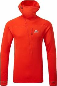 Mountain Equipment Eclipse Hooded Zip-T Shirt langarm cardinal orange (Herren) (ME-002285-ME-01252)